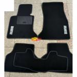 Коврики текстильные BMW 5 [E60/E61] с 2003-2011 черные в салон