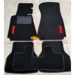 Коврики текстильные BMW 5 [E39] с 1996-2003 черные в салон