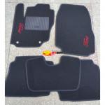 Коврики текстильные FORD MONDEO 4 с 2007 черные в салон