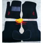 Коврики текстильные FORD FOCUS 1 с 1998-2004 черные в салон