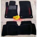 Коврики текстильные MERCEDES E [211] с 2002-2009 черные в салон