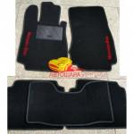 Коврики текстильные MERCEDES S [220] с 1998-2005 черные в салон