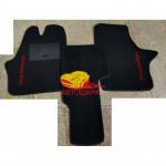 Коврики текстильные MERCEDES VITO [639] с 2003 черные в салон