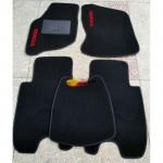 Коврики текстильные HONDA JAZZ с 2002-2008 черные в салон