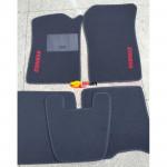 Коврики текстильные RENAULT KENGO с 1997-2003 черные в салон