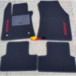 Коврики текстильные RENAULT MEGANE с 2002-2008 черные в салон