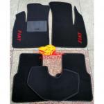 Коврики текстильные FIAT DOBLO с 2000-2010 черные в салон