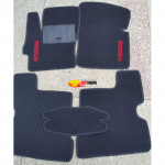 Коврики текстильные MAZDA 3 с 2003-2008 черные в салон