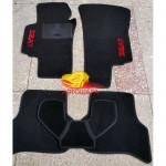 Коврики текстильные SEAT ALTEA с 2009 черные в салон