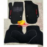 Коврики текстильные Volkswagen POLO с 2010 седан черные в салон