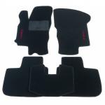 Коврики текстильные ALFA ROMEO 156 черные в салон