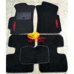 Коврики текстильные CHERY QQ 2003-2012 черные в салон
