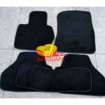 Коврики текстильные BMW X3 [F25] с 2010 черные в салон