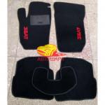 Коврики текстильные SEAT IBIZA 2002-2009 черные в салон