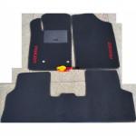 Коврики текстильные PEUGEOT PARTNER с 2002-2008 черные в салон