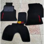 Коврики текстильные Volkswagen LT46 черные в салон