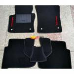 Коврики текстильные Volkswagen TOURAN с 2006-2010 черные в салон