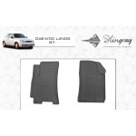 Резиновые коврики Daewoo Lanos 1997- (передние) - Stingray