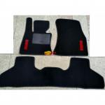 Коврики текстильные BMW X5 [F15] 2013- черные в салон
