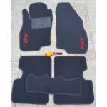 Коврики FIAT PUNTO 2006-2012 текстильные черные в салон