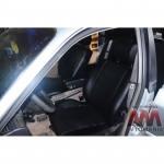 Чехлы на сиденья Audi 100 A-6 (C4) 1990-1997 - серия AM-L (без декоративной строчки)- эко кожа - Автомания