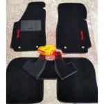 Коврики текстильные AUDI 100 черные