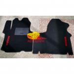 Коврики NISSAN PRIMASTAR текстильные черные в салон