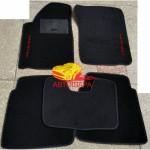 Коврики CHRYSLER 300M текстильные черные в салон