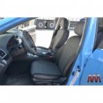 Чохли на сидіння Subaru XV c 2011 - серія AM-X (паралельна ПОДВІЙНА рядок) - еко шкіра - Автоманія