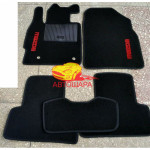 Коврики текстильные MAZDA CX7 черные