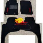 Коврики текстильные MITSUBISHI L200 2005-2013 черные