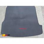 Коврик в багажник для VolksWagen Passat B5 - серый текстильный