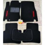 Коврики текстильные NISSAN TIIDA 2005-2012 черные