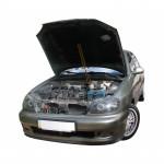 Газовый упор капота для Daewoo Lanos с 1998+Без распорки !!! 1 шт.