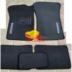 Коврики текстильные RENAULT CLIO с 2005-2012 седан серые в салон
