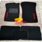 Коврики текстильные RENAULT CLIO с 2005-2012 седан черные в салон