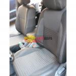 Чехлы сиденья CHEVROLET Lacetti с 2004г фирмы MW Brothers - кожзам Premium Style