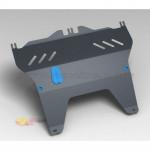 Защита картера PEUGEOT 107 (2005-) (2мм) 1,0 бензин МКПП/АКПП - Novline