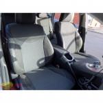 Чехлы сиденья Toyota Prius 2009- экокожа - MW Brothers - серая нитка