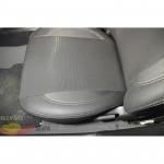 Авточехлы для GEELY MK CROSS c 2006 - кожзам - Premium Style MW Brothers