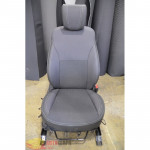 Авточехлы для HYUNDAI Santa Fe III c 2012 - кожзам - Premium Style MW Brothers