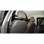 Авточехлы для MG-350 c 2011 цельная спинка - кожзам - Premium Style MW Brothers