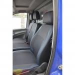 Авточехлы для MERCEDES Vito W-638 (1+1) 1995-2003 - кожзам - Premium Style MW Brothers