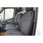 Авточехлы для MERCEDES Sprinter (1+1) c 2006 - кожзам - Premium Style MW Brothers
