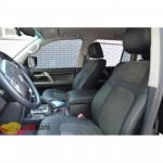Авточехлы для Toyota RAV 4 III 2006-2012 - кожзам + алькантара - Leather Style MW Brothers