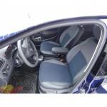 Авточехлы для SEAT IBIZA (2008-....) - кожзам - Premium Style MW Brothers