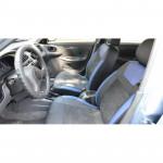 Авточехлы для DAEWOO Lanos с 1997г - кожзам + алькантара - Leather Style MW Brothers
