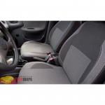 Чехлы на сиденья авто для Daewoo Lanos 2005- Classic Style серая либо красная нить - MW Brothers