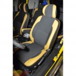 Авточехлы для Toyota FJ CRUISER 2006- кожзам - Premium Style MW Brothers