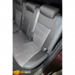 Авточехлы для HYUNDAI SANTA-FE 2 (2006-2012) - кожзам - Premium Style MW Brothers
